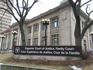 The former Hamilton Public Library is now the Family Court House in Hamilton.