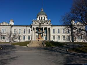 Frontenac County Court House in Kingston, Ontario.